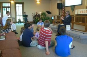 children in worship pic2